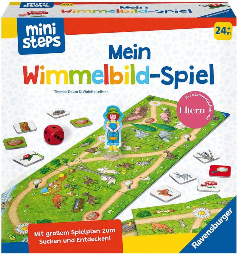 Ravensburger Spiel, »ministeps® Mein Wimmelbild-Spiel«, Made in Europe, FSC® - schützt Wald - weltweit
