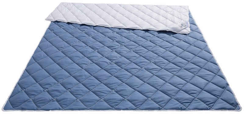 Microfaserbettdecke, »Saskia«, Traumecht, Füllung: Polyesterfaser, Bezug: Polyester, mit kühlendem und wärmendem Effekt