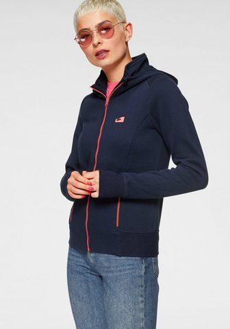 Ocean Sportswear Megztinis su gobtuvu su kontrastfarben...