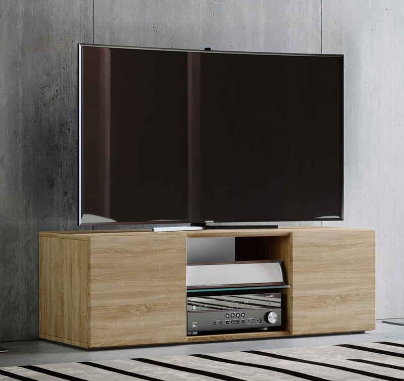 VCM TV-Board »Holz TV Lowboard Fernsehschrank Lowina«