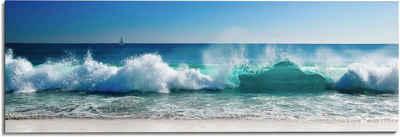 Reinders! Wandbild »Wandbild Stürmische Wellen Meer - Strandbilder - Wasser«, Meer (1 Stück)