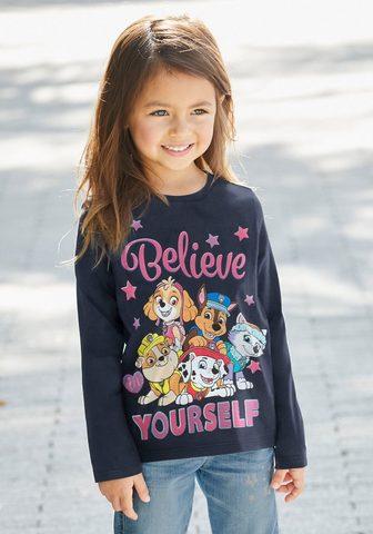 PAW PATROL Marškinėliai ilgomis rankovėmis »BELIE...