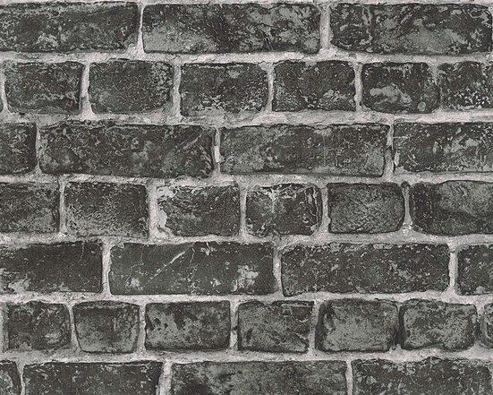 living walls Vliestapete »Around the world«, glatt, Steinoptik, realistisch, urban, (1 St), glatt