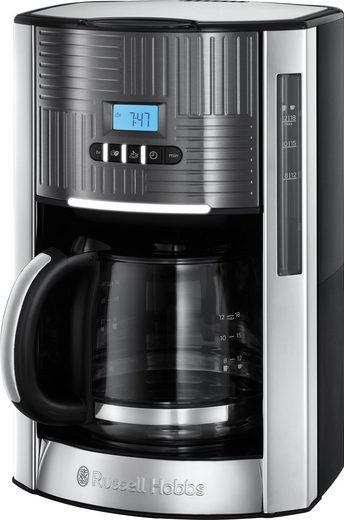 RUSSELL HOBBS Filterkaffeemaschine Geo Steel 25270-56, 1,5l Kaffeekanne, Papierfilter 1x4