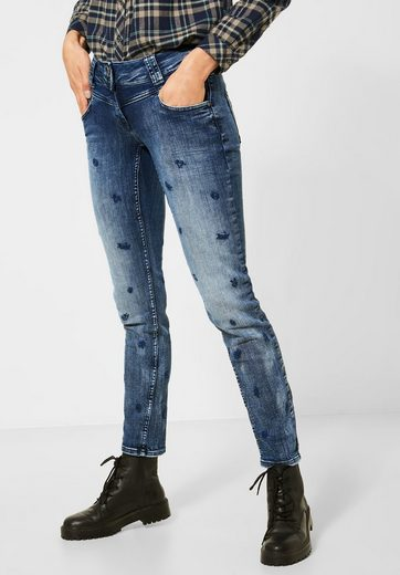 Cecil Loose-fit-Jeans 5-Pockets Style