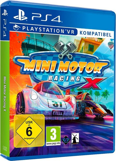 Mini Motor Racing X PlayStation 4 – 58%