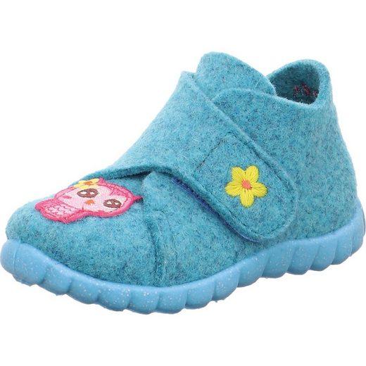 Superfit »Baby Hausschuhe HAPPY für Mädchen« Hausschuh