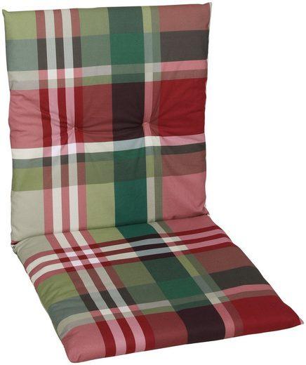 GO-DE Sesselauflage, (Set, 2 St), 100 x 50 cm, nieder