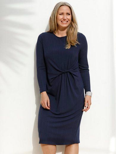 MIAMODA Jerseykleid mit Knotendetail in der Taille