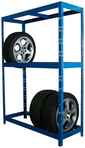 SZ METALL Schwerlastregal für 12 Reifen