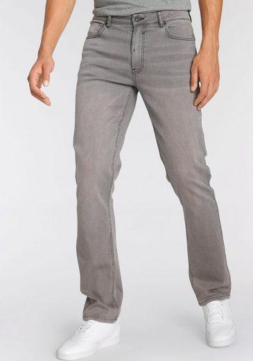 H.I.S Straight-Jeans »DIX« Nachhaltige, wassersparende Produktion durch OZON WASH