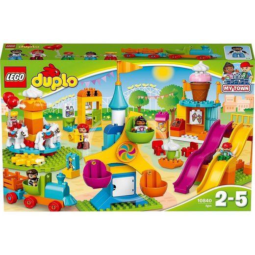 LEGO® Spielbausteine »LEGO® DUPLO® 10840 Großer Jahrmarkt«
