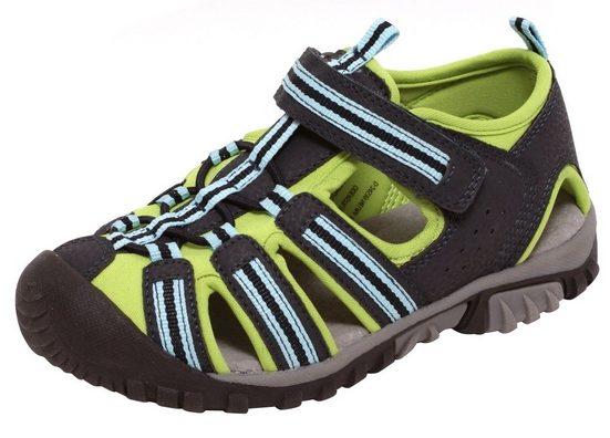 Zapato Outdoorsandale Kinder Sport Outdoor Sandalen Sommersandalen Schuhe Klettverschluss grün blau