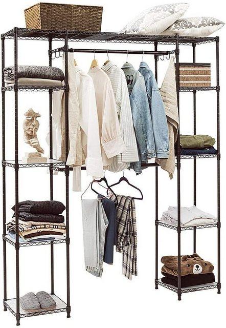 Kleiderständer und Garderobenständer - COSTWAY Kleiderständer »mit Ablage Haken«  - Onlineshop OTTO
