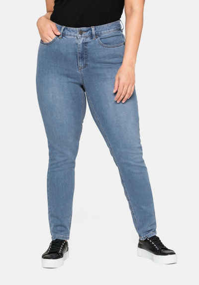 Sheego Stretch-Jeans Super elastisches Power-Stretch-Material