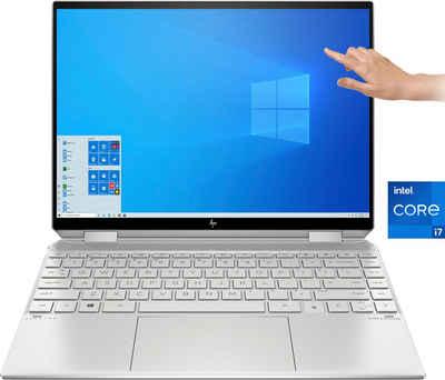 HP 14-ea0081ng Convertible Notebook (34,3 cm/13,5 Zoll, Intel Core i7 1165G7, Iris© Xe Graphics, 512 GB SSD, Kostenloses Upgrade auf Windows 11, sobald verfügbar)
