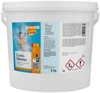 SUMMER FUN Poolpflege »Combi-Tabletten«, 5 kg
