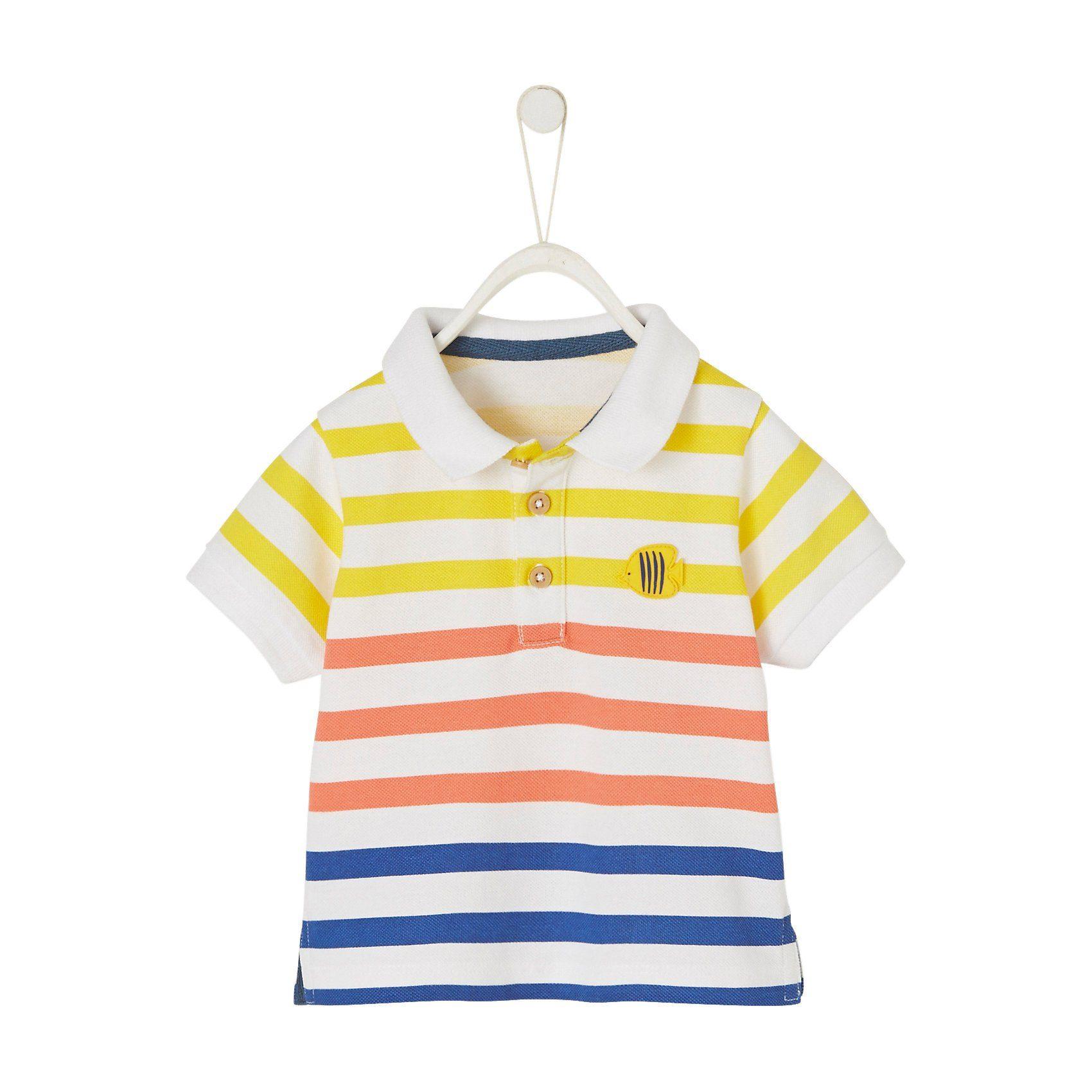 Baby,  Kinder,  Jungen,  Kinder,  Unisex vertbaudet Baby Poloshirt für Jungen weiß | 03611652982964