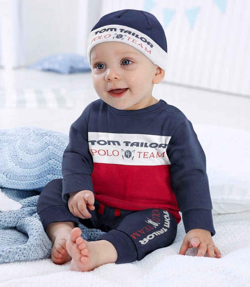 TOM TAILOR Polo Team Neugeborenen-Geschenkset (Set, 4-tlg) aus Bio-Baumwolle