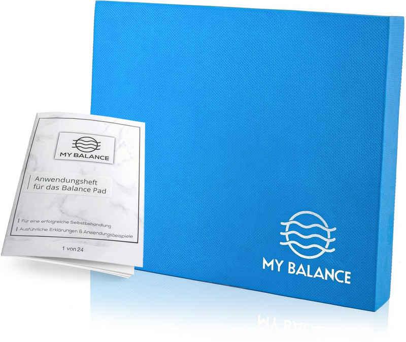 My Balance Balance Pad »+ GRATIS Anwendungsheft 24seitig, Innovatives Balance-Kissen als Gymnastikmatte zur Verbesserung deiner Fitness-Koordination, Stabilität oder als Therapie Pad zum Reha-Sport«, (mit Anwendungsheft)
