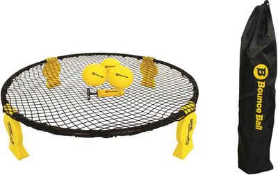 L.A. Sports Trampolinnetz »Bounce Ball Deluxe Set« (Set, 8-St., Rundnetz, Tragetasche, 3 Spielbälle, Ballpumpe, Anleitung)