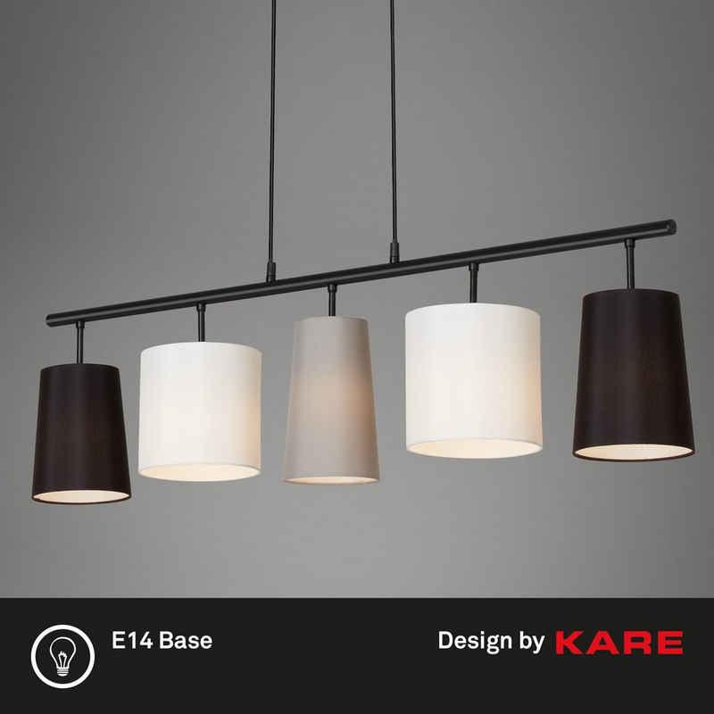 Briloner Leuchten Pendelleuchte »4009-055«, Pendellampe mit Stoffschirm - Design by Kare