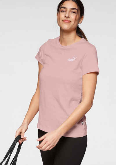 PUMA T-Shirt »ESS+ Embroidered Tee«