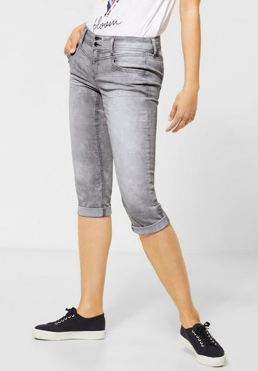 STREET ONE Comfort-fit-Jeans mit dekorativen Nähten
