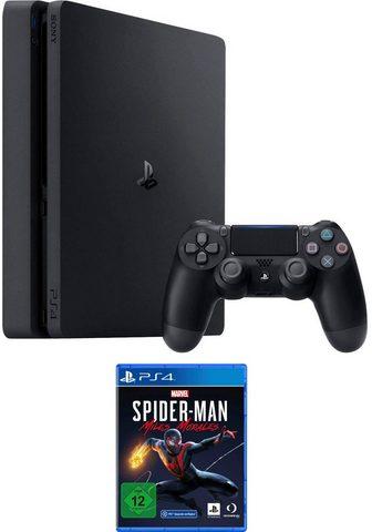 PlayStation 4 Slim ir Spiderman Miles Morales