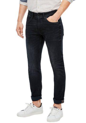 s.Oliver Straight-Jeans »KEITH« mit authentischer Waschung