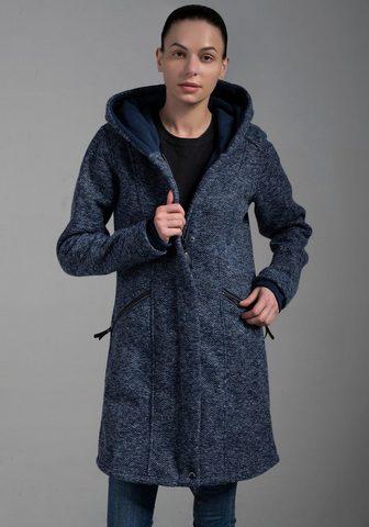 Polarino Megztas paltas su großer kuscheligen K...