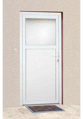 KM Zaun Haustür »K601P« BxH: 108 x 203 cm weiß...