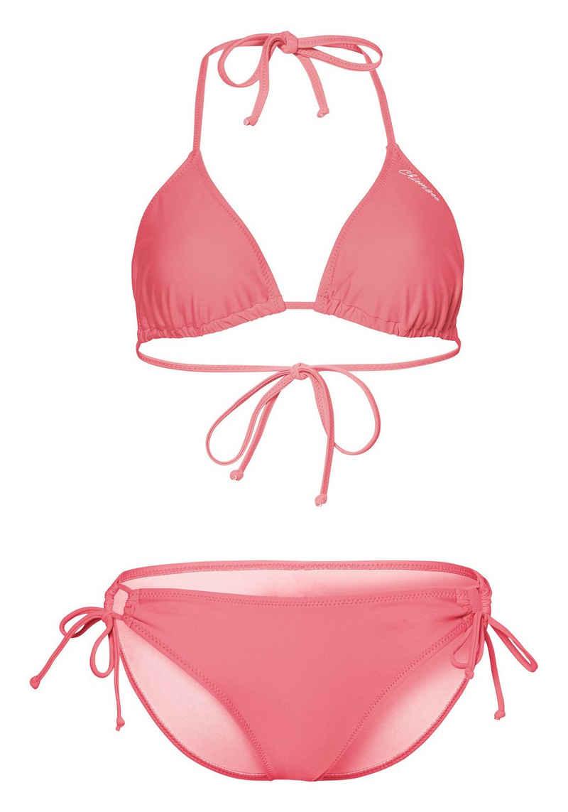 Chiemsee Triangel-Bikini »einfarbig zum Schnüren« (2 St)