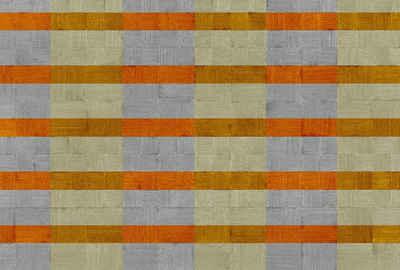 Architects Paper Fototapete »Atelier 47 Plaster Art 3«, glatt, Holz, (4 St)