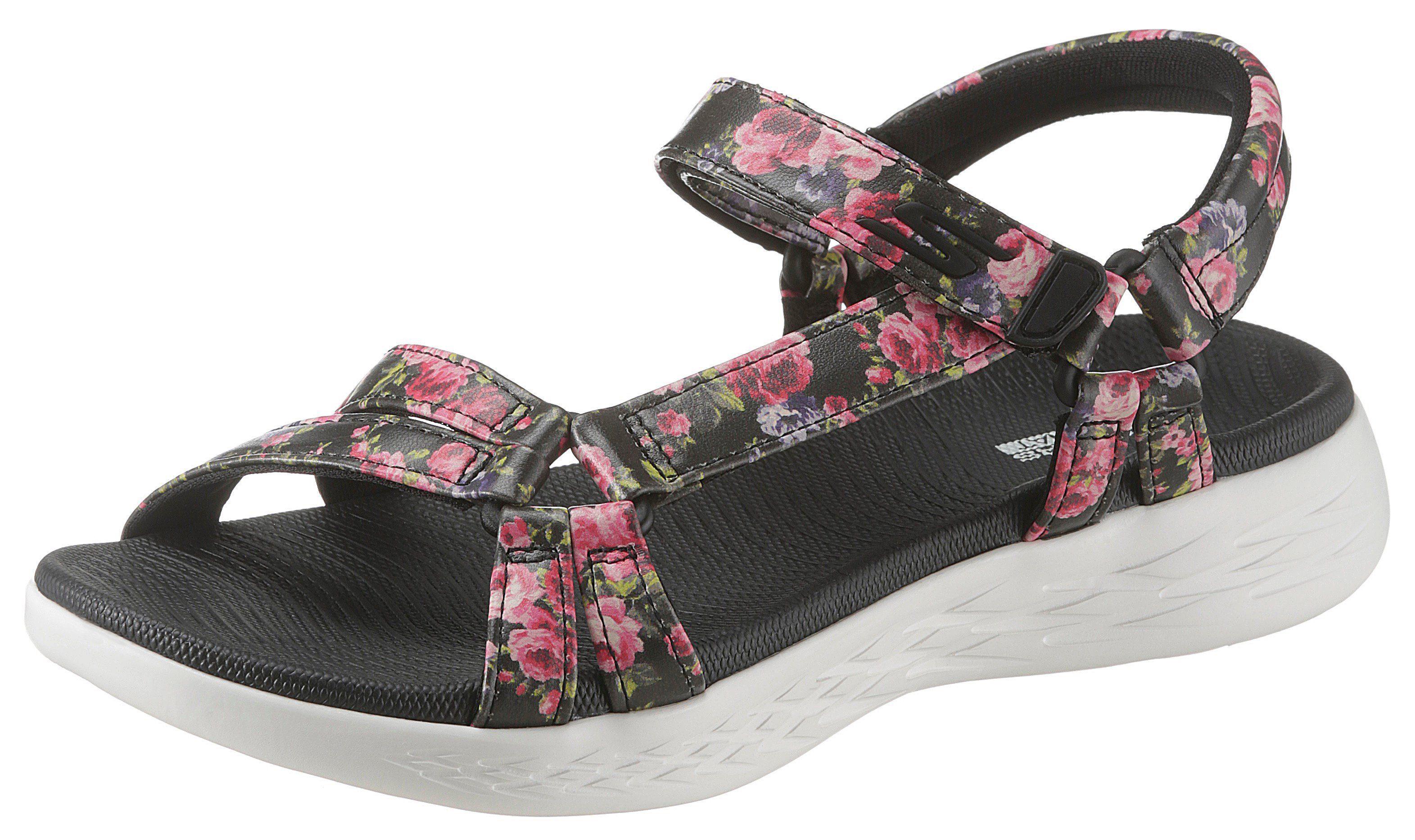 Skechers »On the Go 600 Fleur« Sandale mit Blumendruck online kaufen | OTTO