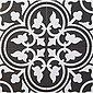 Casa Moro Terrassenfliesen »Mediterrane Keramikfliesen orientalisch Flavie Noir 20x20 cm 1 qm Feinsteinzeug in Zementoptik frostsicher, Bodenfliesen & Wandfliesen für schöne Küche Flur Wohnzimmer, FL7005«, Bild 2