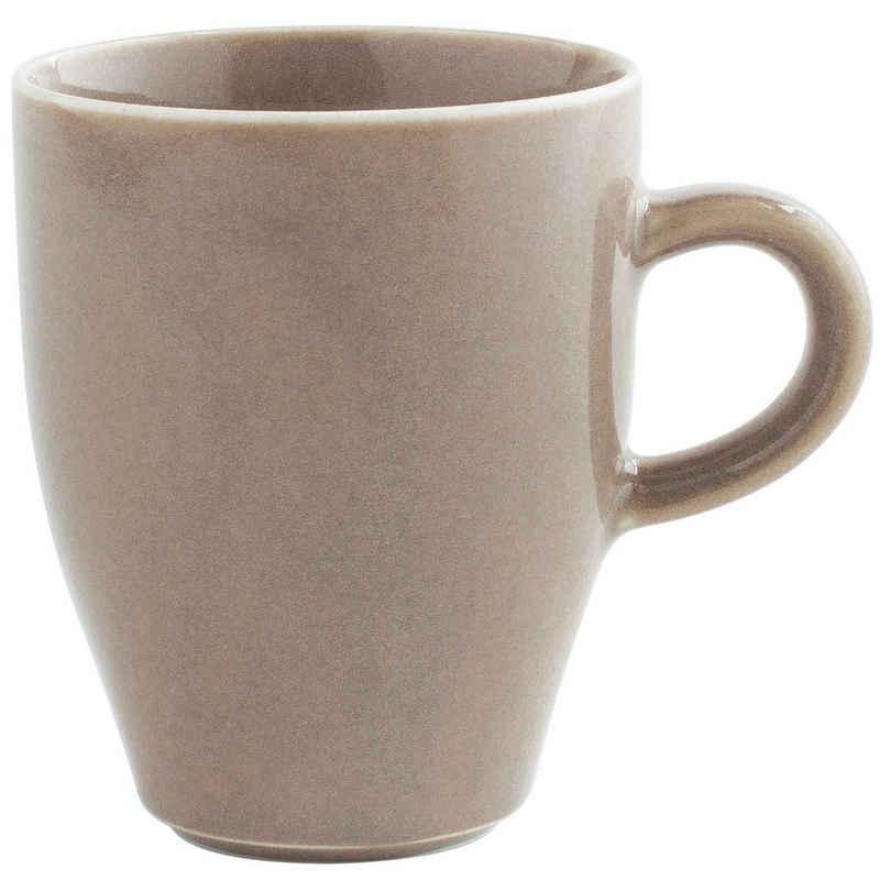 Kahla Becher »Homestyle Kaffeebecher 0,32 l«, Porzellan, Handglasiert, Made in Germany