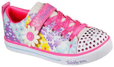 Skechers Kids »SPARKLE LITE - SUPER BLOOMS« Sneaker mit Allover-Blumenprint