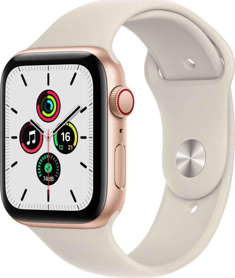 Apple Watch SE GPS + Cellular, 44mm Smartwatch (4,52 cm/1,78 Zoll, Watch OS 7)