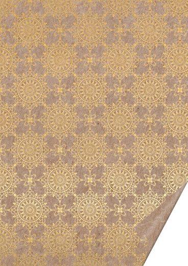 VBS Motivpapier »Naturkarton Ornamente«, 70 cm x 50 cm
