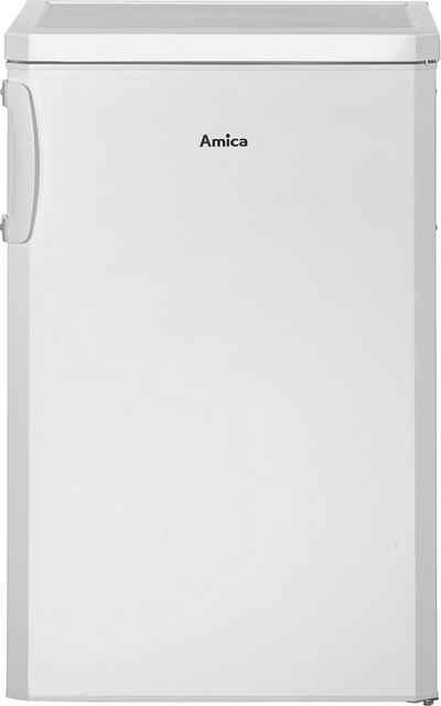 Amica Kühlschrank KS 361 100 W, 84,5 cm hoch, 55 cm breit