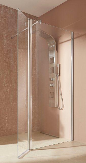 Duschen und Zubehör - welltime Walk in Dusche »Mailand«, Einscheibensicherheitsglas, Breite 90 cm, Duschabtrennung  - Onlineshop OTTO