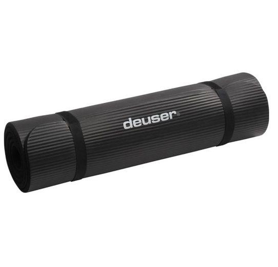 Deuser-Sports Yogamatte »XL Fitness Matte Fitnessmatte Isomatte Yoga Pilate«, Dämpfend und wärmeisolierend - 180 x 90 x 1,0 cm - Das Original - XL