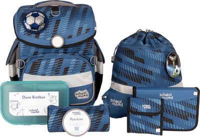 SCHOOL-MOOD® Schulranzen »Timeless Air+, Mats« (Set), aus recyceltem Material