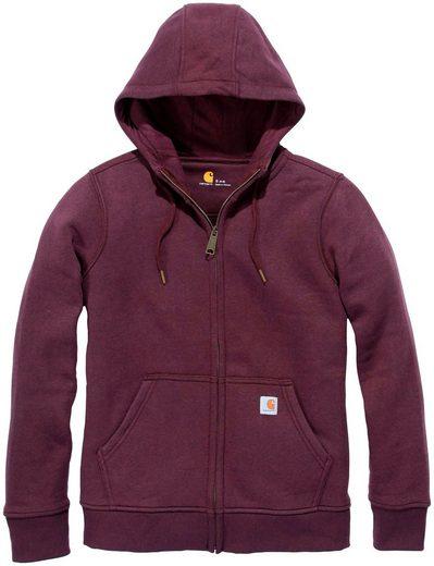 CARHARTT Sweatshirt »Clarksburg Full Zip Hoodie«, Damen-Hoodie mit Frontreissverschluß