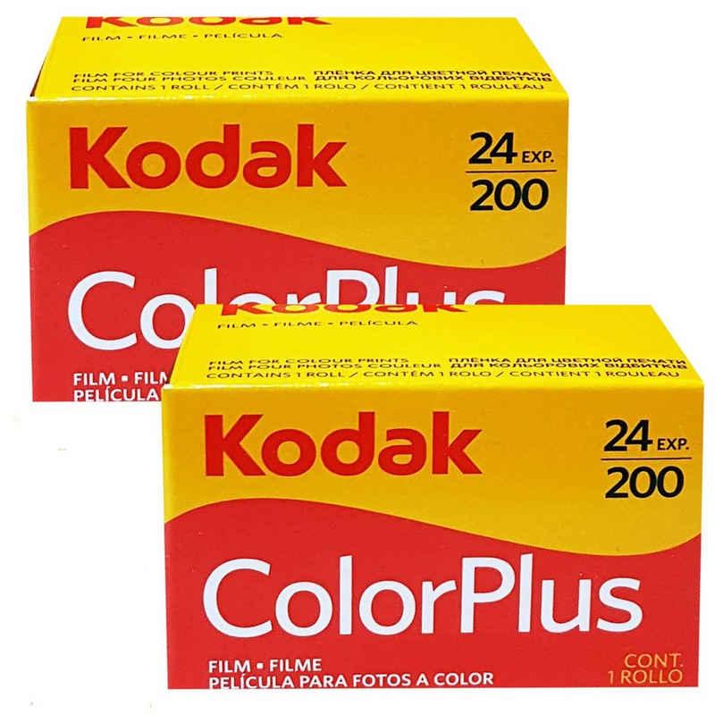 1A PHOTO PORST »2 x Kodak Color plus 200 135/24 Kleinbildfilm für« Superzoom-Kamera