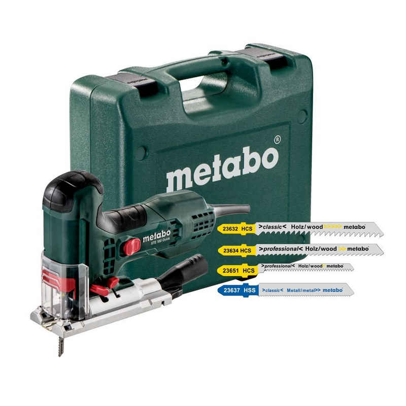 metabo Stichsäge »Stichsäge STE 100 Quick Set inkl. Koffer & Sägeblä«