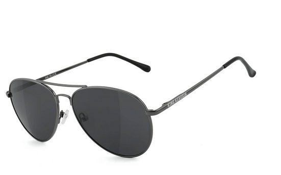 KingKerosin Sonnenbrille »KK240« Bügel mit Flex-Scharnieren, Steinschlagbeständig