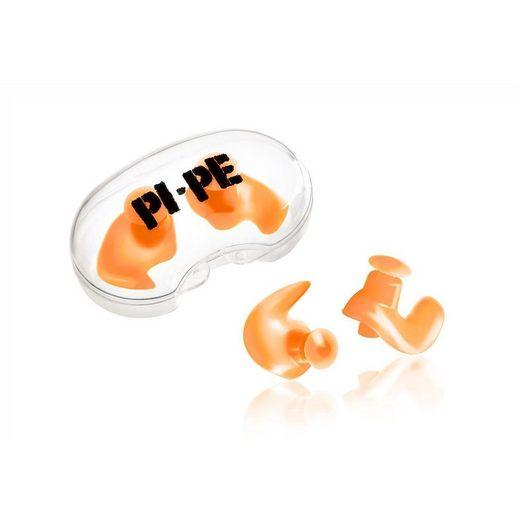 PI-PE Badekappe »PI-PE Ohrstöpsel Kids Ear Plugs Active orange«