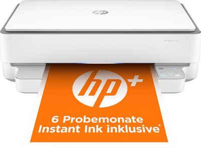 HP ENVY 6020e AiO Printer A4 color 7ppm WLAN-Drucker, (WLAN (Wi-Fi)